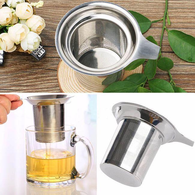 Filtru metalic pentru ceai  1