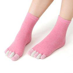 Prstové ponožky Kaila Červená
