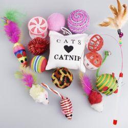 Set hraček pro kočky PD_1537643