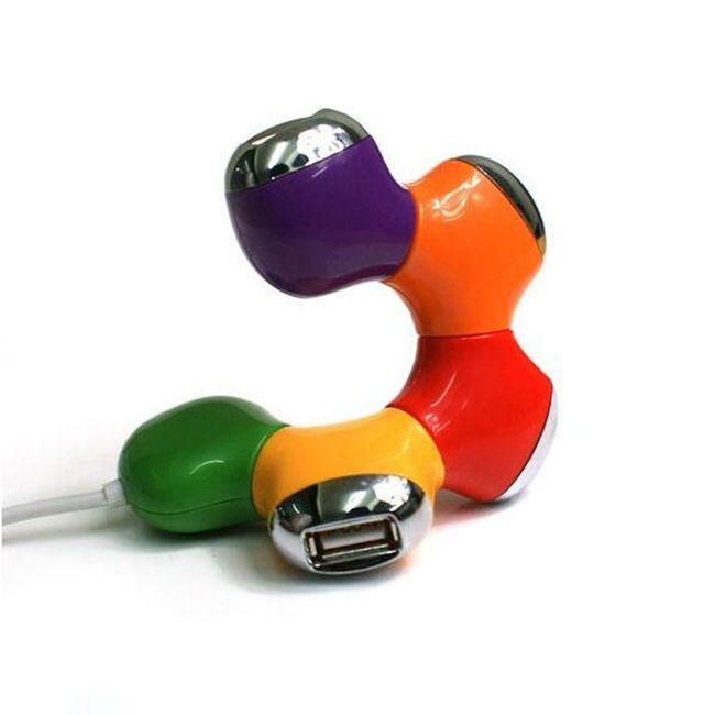 4 v 1 USB Rozbočovač 1
