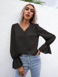 Damska koszula długi rękaw  BR_CZFZ00576