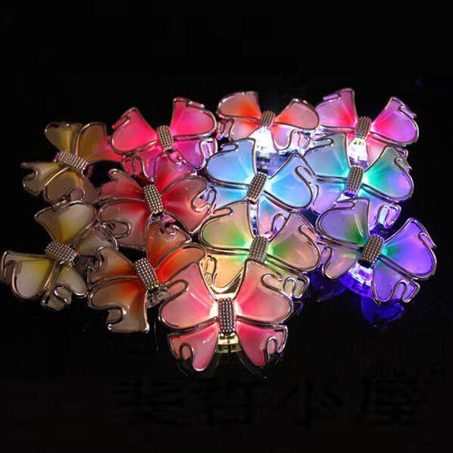 LED mašlička do vlasů 1