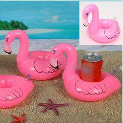 Felfújható italtartó a medencéhez - flamingó