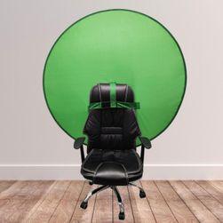 Płótno w kolorze zielonym z przedłużką do fotela Green Screen