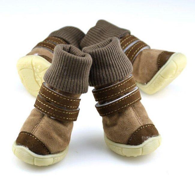 Противоскользящие ботинки для собак 1