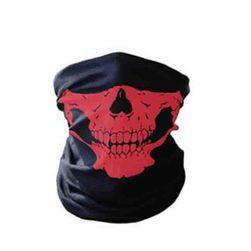 Masca de craniu pentru motociclete - 7 culori