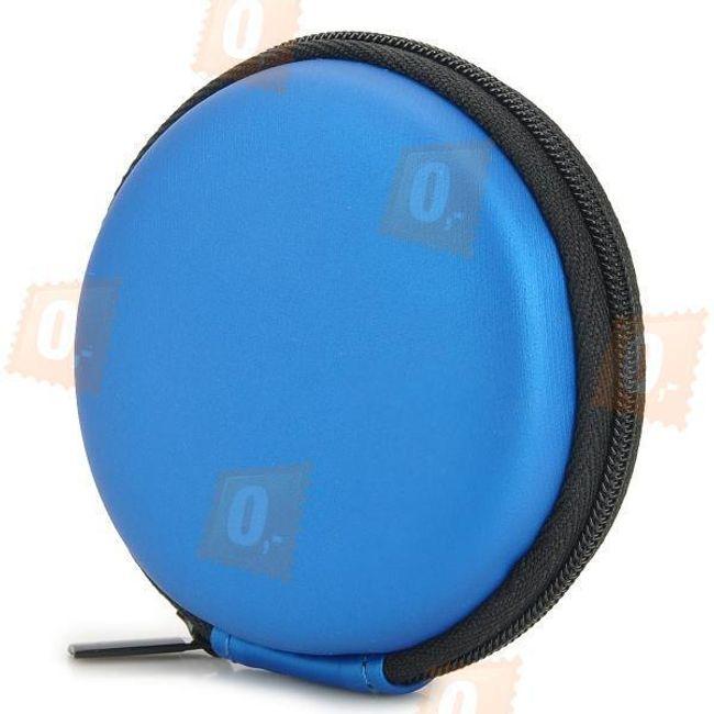 Cestovní pouzdro na sluchátka - modrá barva 1