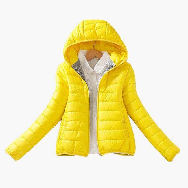 Jarní slim bunda v pestrých barvách - 10 variant 1