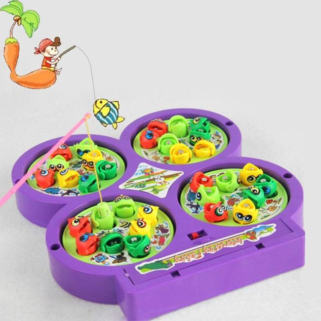 Gyerekjáték - mágneses hal 1