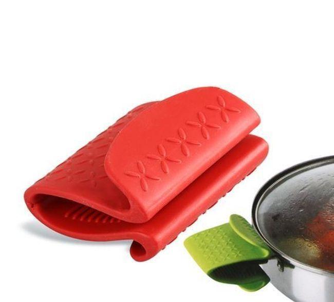 Kuchyňská silikonová chňapka  1