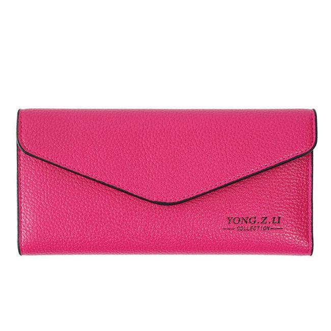 Dlouhá peněženka jako psaníčko - různé barvy 1