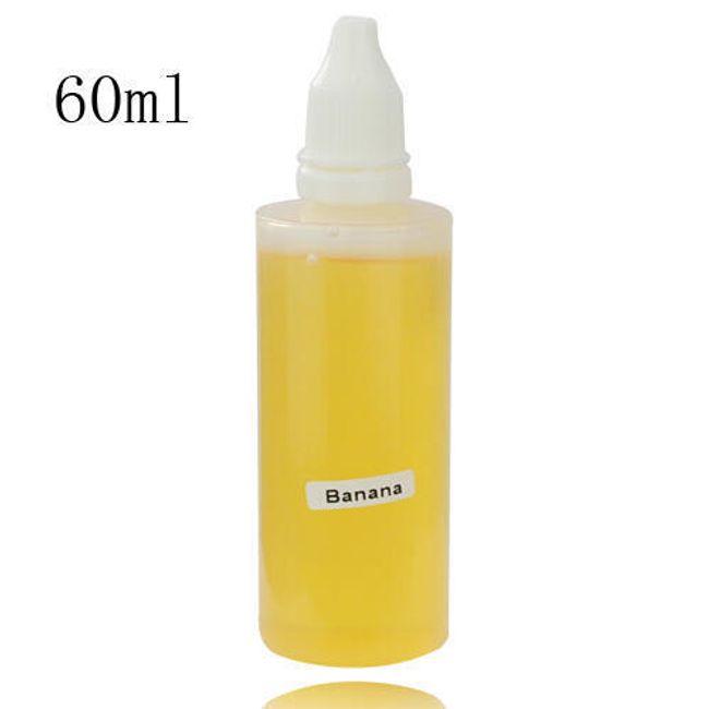 60ml E-liquid, příchuť Banán, vysoký obsah nikotinu 1