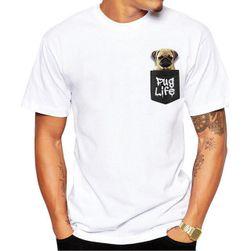 Pánské tričko s mopsíkem