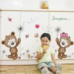 Nalepnica za dečiju sobu - medvedići