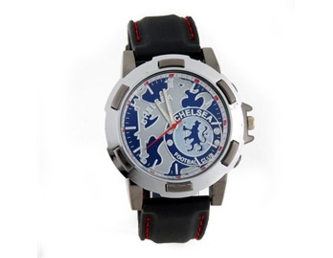Náramkové hodinky v barvách fotbalového klubu Chelsea 1