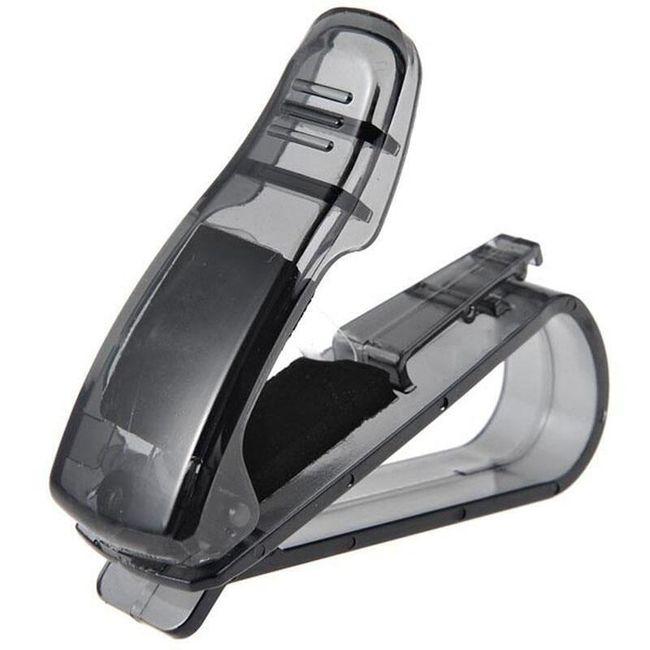 Автомобильный держатель для очков KNB01 1
