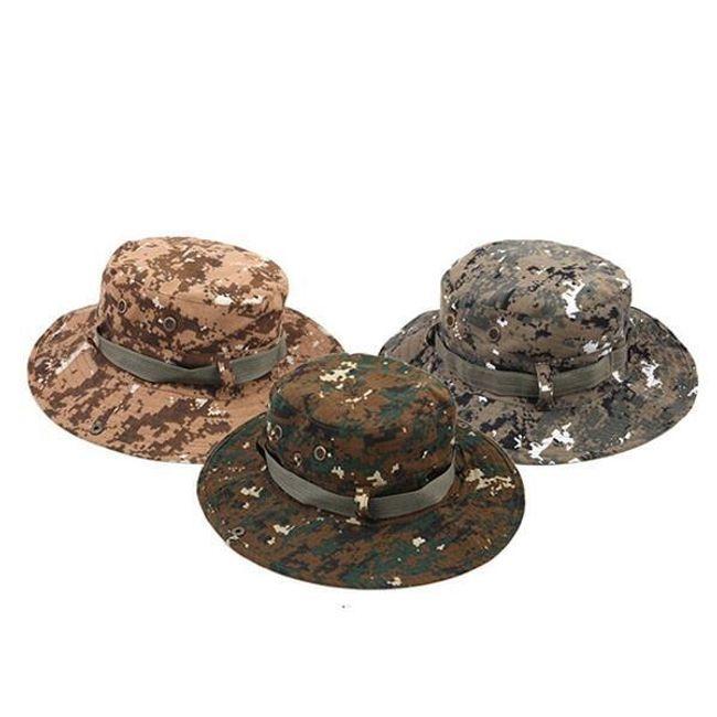 Шляпа камуфляжных цветов 1