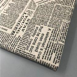 Ткань для шитья Newspaper