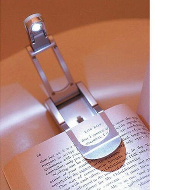 LED lampka na książkę z praktycznym klipsem 1