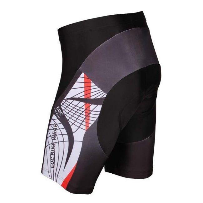 Moške kolesarske hlače z ojačitvijo z geli - 9 variant 1