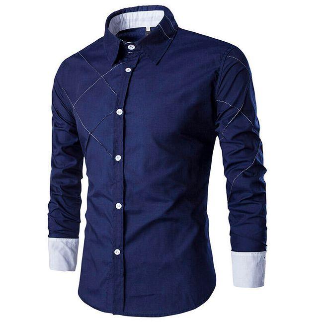 Pánská manažerská košile - 10 barev 1