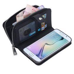 Pouzdro s peněženkou pro Samsung Galaxy S6 edge