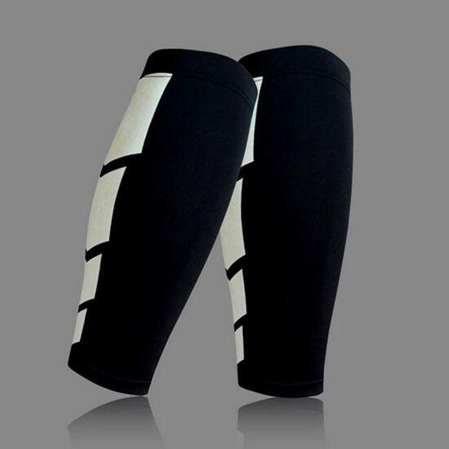 Sportovní návlek na lýtko - Černá-velikost č. 3 1