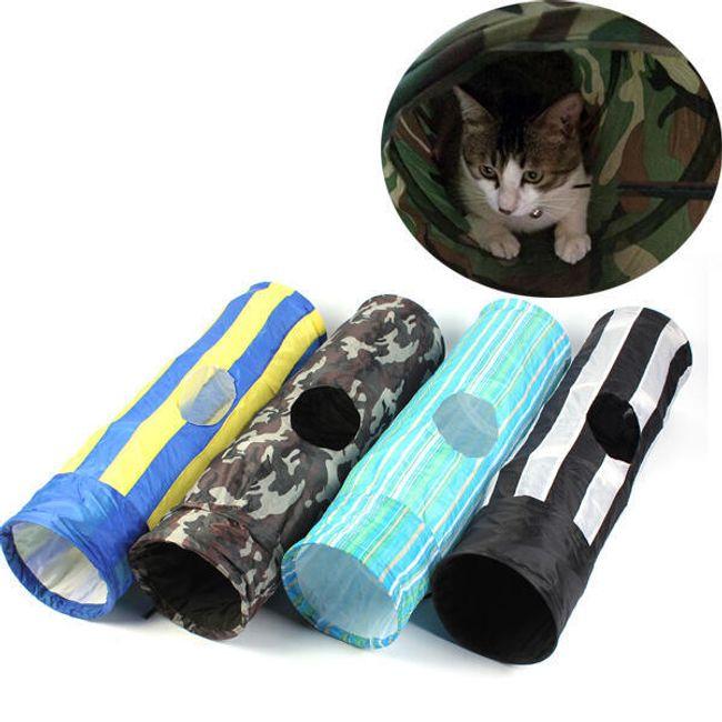 Складной туннель для кошки 1