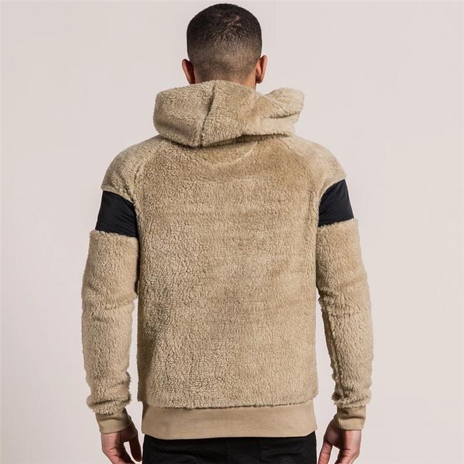 Férfi pulóver kapucnival Liam