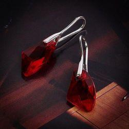 Dámské náušnice Skylar Červená