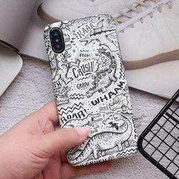 Etui na iphone 6/6S/6 Plus/6S plus/7/8/7 Plus/8 Plus/X/XS Dino