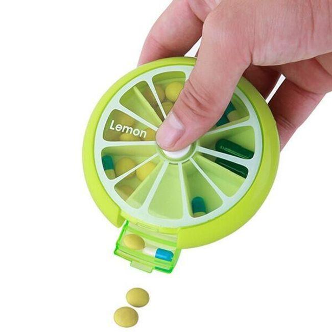 Škatlica za zdravila v obliki sadja 1
