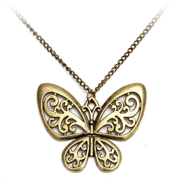 Pillangó - vintage nyaklánc 1