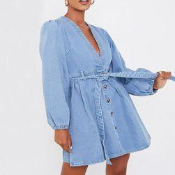 Ženska denim haljina Ilma
