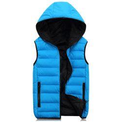 Pánská vesta na podzim či jaro - různé barvy