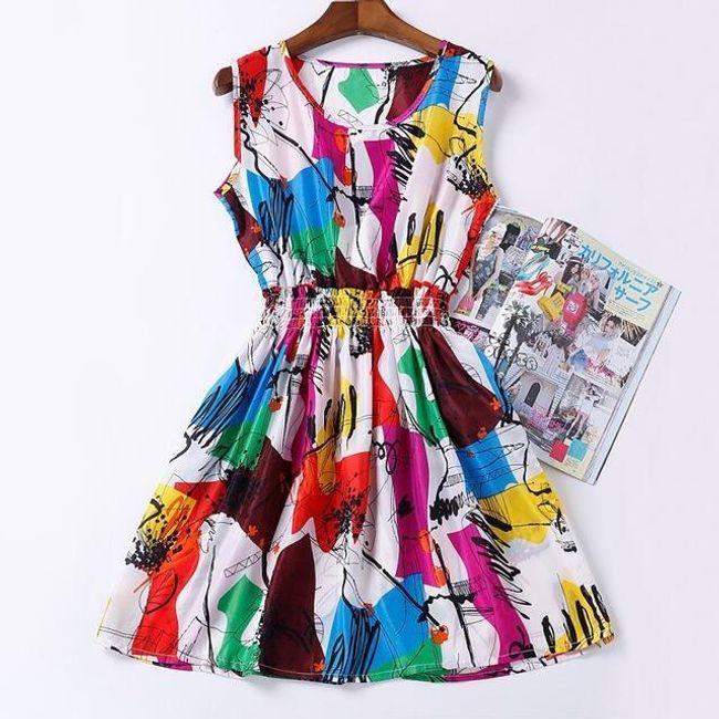 Rozmanité letní šaty - Vzor: 6 - Velikost: 1 1