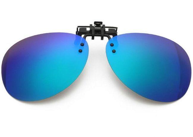 Polarizační klip na dioptrické brýle - různé barvy 1