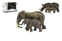 Zvieratká safari ZOO 14cm sada plast 2ks 2 druhy v krabičke 16x11x9,5cm RM_00311471