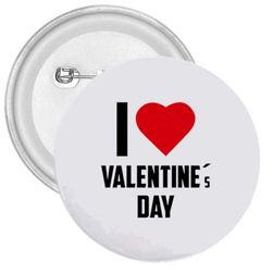 Emblemă I love  Valentine's day