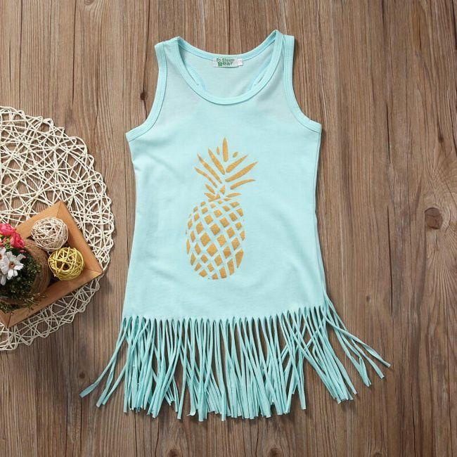 Dětské šatičky s ananasem 1