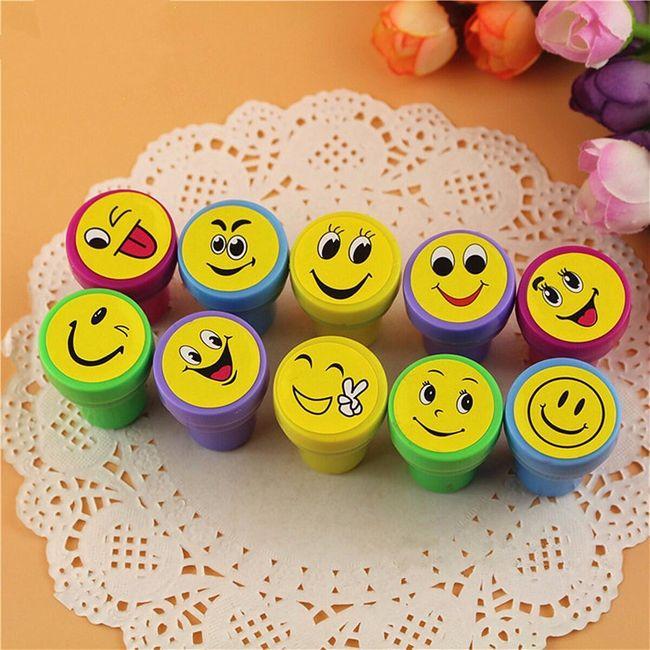 Set štampiljk Smiley 1