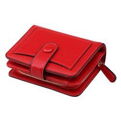Női pénztárca cipzárral - 6 változat