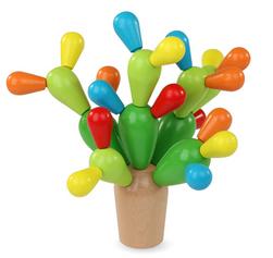 Dřevěná hračka Kaktus