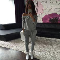 Дамски панталон с пуловер - 2 цвята