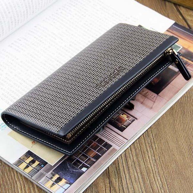 Elegantní pánská peněženka se zipem 1