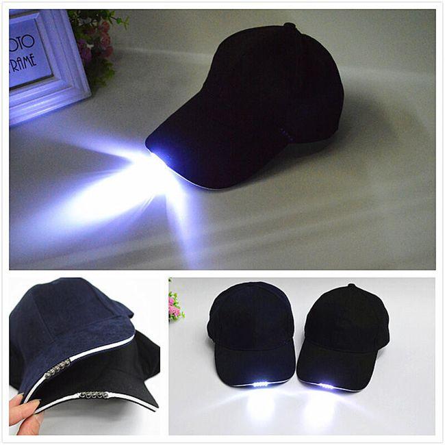 Sapka LED lámpával - 3 változat