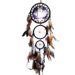 Богато украсен индиански капан за сънища