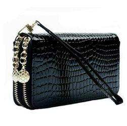 Luxus cipzáras pénztárca