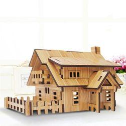 Дървен строителен комплект DS02