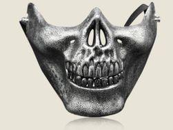 Mască asemănătoare craniului - 5 culori